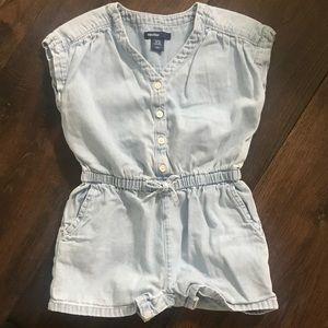 Baby/Toddler Chambray Romper
